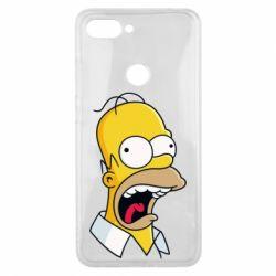 Чехол для Xiaomi Mi8 Lite Crazy Homer! - FatLine