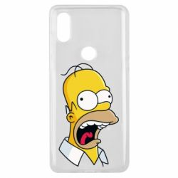 Чехол для Xiaomi Mi Mix 3 Crazy Homer! - FatLine