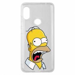 Чехол для Xiaomi Redmi Note 6 Pro Crazy Homer! - FatLine