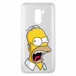Чехол для Xiaomi Pocophone F1 Crazy Homer! - FatLine