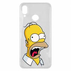 Чехол для Huawei P Smart Plus Crazy Homer! - FatLine