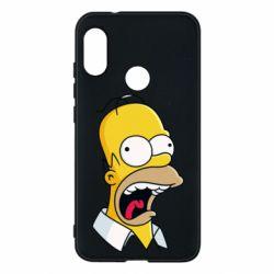 Чехол для Mi A2 Lite Crazy Homer! - FatLine