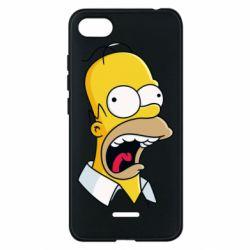 Чехол для Xiaomi Redmi 6A Crazy Homer! - FatLine