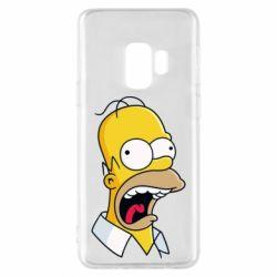 Чехол для Samsung S9 Crazy Homer! - FatLine