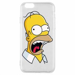 Чехол для iPhone 6/6S Crazy Homer! - FatLine
