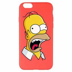 Чехол для iPhone 6 Plus/6S Plus Crazy Homer! - FatLine