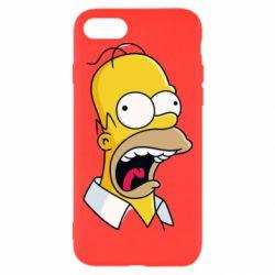 Чехол для iPhone 7 Crazy Homer! - FatLine