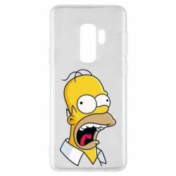 Чехол для Samsung S9+ Crazy Homer! - FatLine