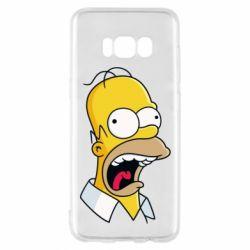 Чехол для Samsung S8 Crazy Homer! - FatLine