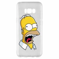 Чехол для Samsung S8+ Crazy Homer! - FatLine