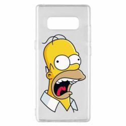 Чехол для Samsung Note 8 Crazy Homer! - FatLine