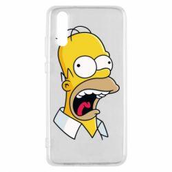 Чехол для Huawei P20 Crazy Homer! - FatLine