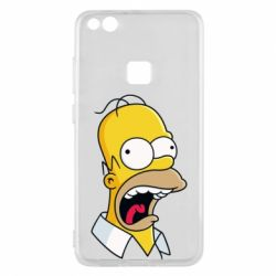 Чехол для Huawei P10 Lite Crazy Homer! - FatLine