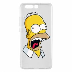 Чехол для Huawei P10 Plus Crazy Homer! - FatLine