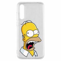 Чехол для Huawei P20 Pro Crazy Homer! - FatLine