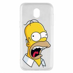 Чехол для Samsung J5 2017 Crazy Homer! - FatLine