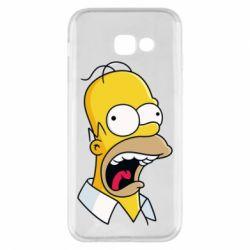 Чехол для Samsung A5 2017 Crazy Homer! - FatLine