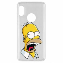 Чехол для Xiaomi Redmi Note 5 Crazy Homer! - FatLine