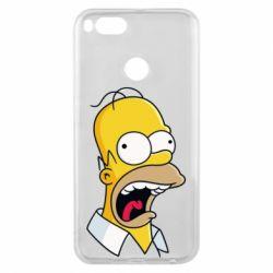 Чехол для Xiaomi Mi A1 Crazy Homer! - FatLine