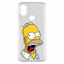 Чехол для Xiaomi Mi A2 Crazy Homer! - FatLine