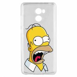 Чехол для Xiaomi Redmi 4 Crazy Homer! - FatLine