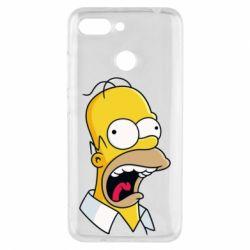 Чехол для Xiaomi Redmi 6 Crazy Homer! - FatLine