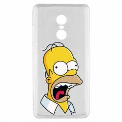 Чехол для Xiaomi Redmi Note 4x Crazy Homer! - FatLine