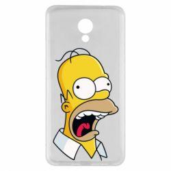 Чехол для Meizu M5 Note Crazy Homer! - FatLine
