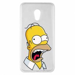 Чехол для Meizu Pro 6 Plus Crazy Homer! - FatLine