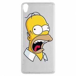 Чехол для Sony Xperia XA Crazy Homer! - FatLine