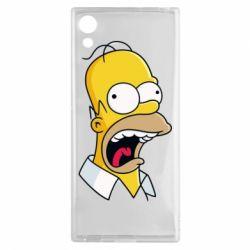 Чехол для Sony Xperia XA1 Crazy Homer! - FatLine