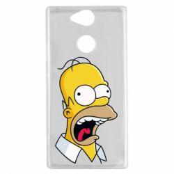 Чехол для Sony Xperia XA2 Crazy Homer! - FatLine