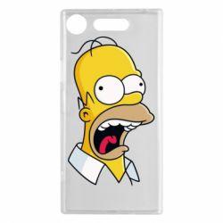 Чехол для Sony Xperia XZ1 Crazy Homer! - FatLine