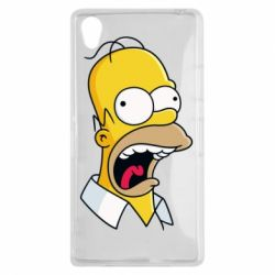 Чехол для Sony Xperia Z1 Crazy Homer! - FatLine