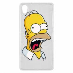 Чехол для Sony Xperia Z2 Crazy Homer! - FatLine