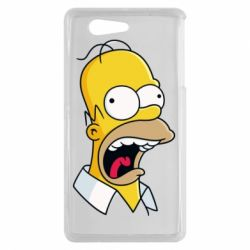 Чехол для Sony Xperia Z3 mini Crazy Homer! - FatLine