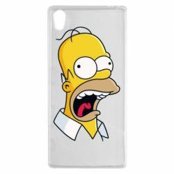 Чехол для Sony Xperia Z5 Crazy Homer! - FatLine