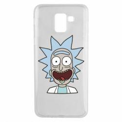 Чехол для Samsung J6 Crazy Rick