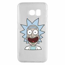 Чехол для Samsung S6 EDGE Crazy Rick