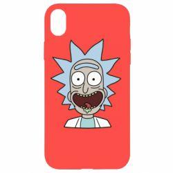 Чехол для iPhone XR Crazy Rick