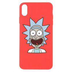 Чехол для iPhone Xs Max Crazy Rick