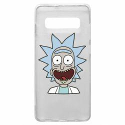 Чехол для Samsung S10+ Crazy Rick