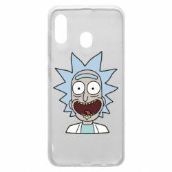Чехол для Samsung A20 Crazy Rick