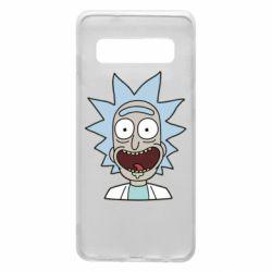 Чехол для Samsung S10 Crazy Rick