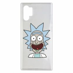 Чехол для Samsung Note 10 Plus Crazy Rick
