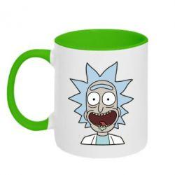 Кружка двухцветная 320ml Crazy Rick