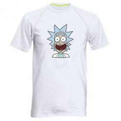 Мужская спортивная футболка Crazy Rick