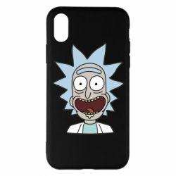 Чехол для iPhone X/Xs Crazy Rick