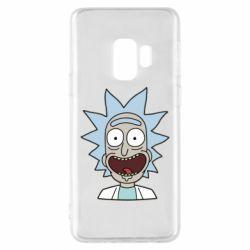 Чехол для Samsung S9 Crazy Rick
