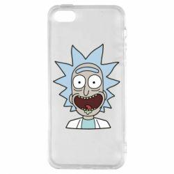 Чехол для iPhone5/5S/SE Crazy Rick